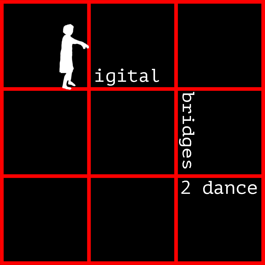 Digital Bridges to Dance Logo